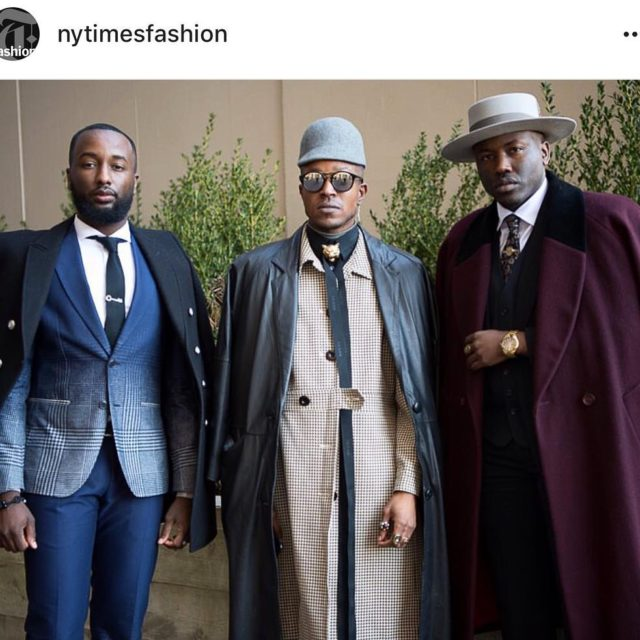 Thank you nytimesfashion nyfwm Day1  Photographed by gastrochic
